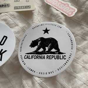 Brandy Melville Other - Brandy Melville and Glossier sticker bundle